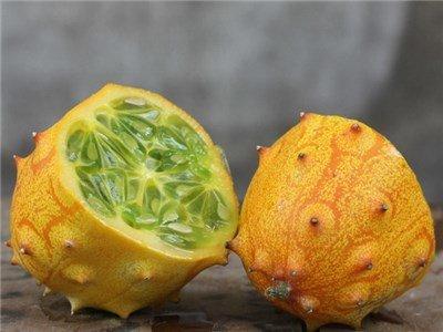 Baker Creek Seeds Jelly Melon - African Horned Cucumber, Kiwano