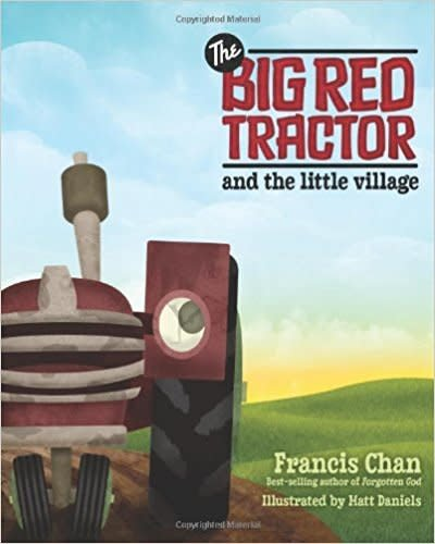Big Red Tractor and Little Village