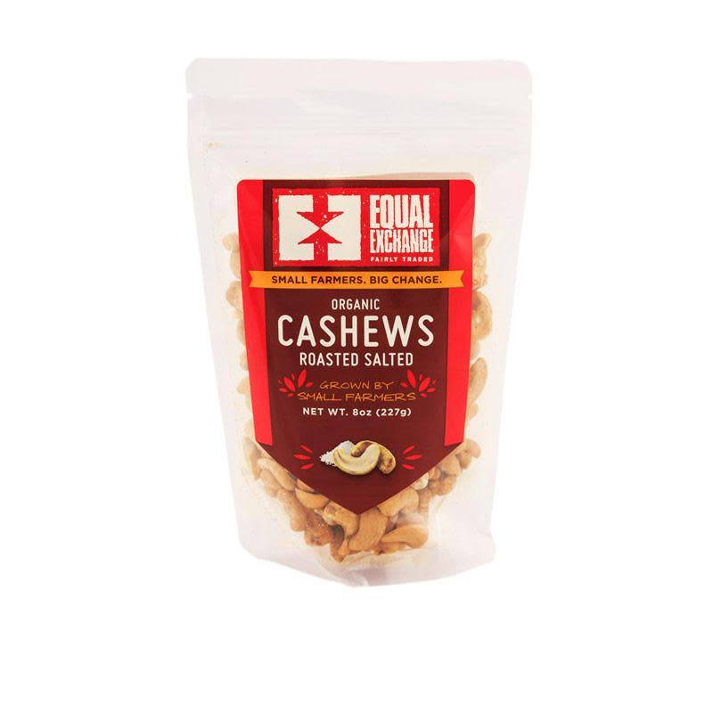 Equal Exchange Cashew, Organic Salted