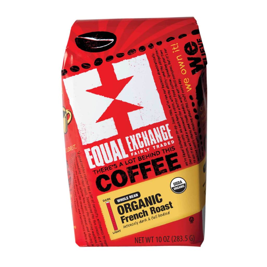 Equal Exchange Coffee - French Roast Whole Bean