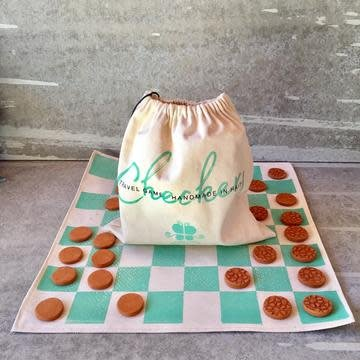 Checkerboard Travel Set
