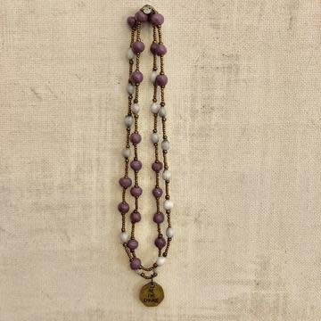 Necklace - Be The Change Lavender