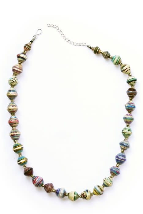 Necklace - Amani Paper