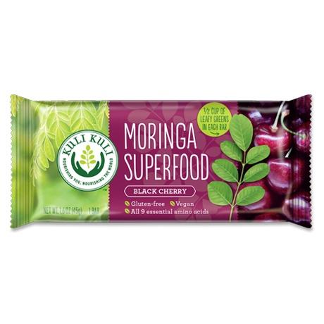 Moringa Superfood Bar, Black Cherry