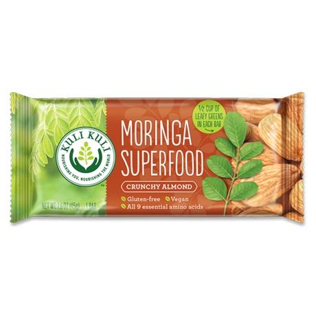 Moringa Superfood Bar, Almond