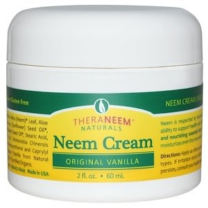 TheraNeem Neem Cream, Vanilla