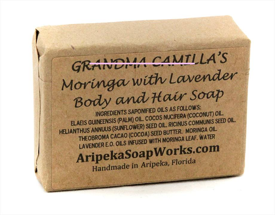 Soap - Moringa with Lavender