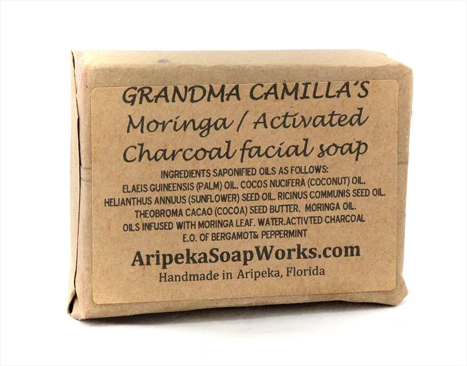 Soap - Moringa with Charcoal