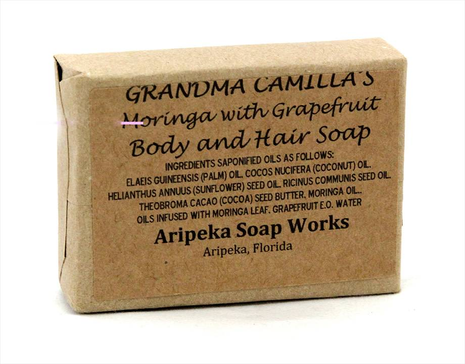 Soap -  Moringa Grapefruit
