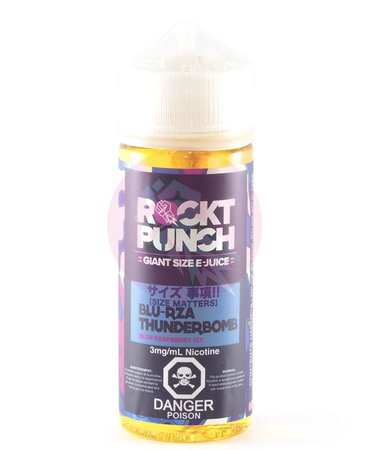 Rockt Punch Blu-Rza by ROCKT PUNCH