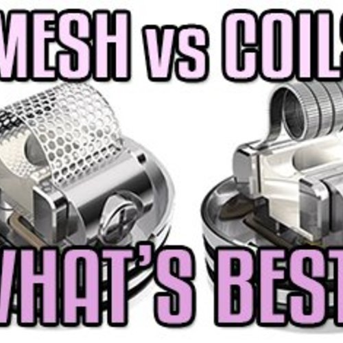 What are Mesh Coils?? --The NEW Vaping Standard??