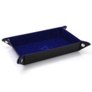 Die Hard Dice Die Hard Dice: Folding Rectangle Dice Tray - Blue