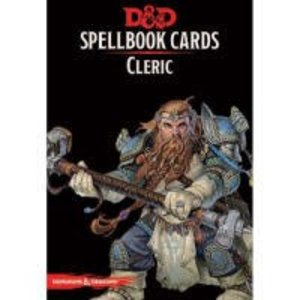 GaleForce9 Dungeons and Dragons 5th Edition: Spell Cards - Cleric