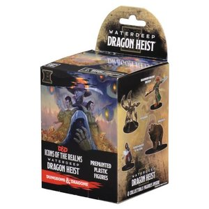WizKids Dungeons & Dragons Fantasy Miniatures: Waterdeep Dragon Heist Booster Pack