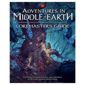 Cubicle 7 Adventures in Middle Earth Loremaster Guide (Compatible with Dungeons and Dragons 5th Edition)