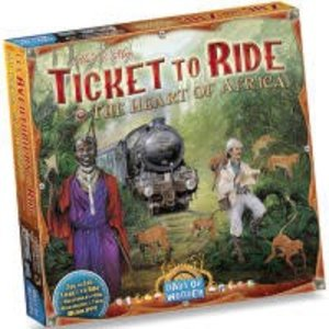Days of Wonder Ticket to Ride: Heart of Africa Expansion
