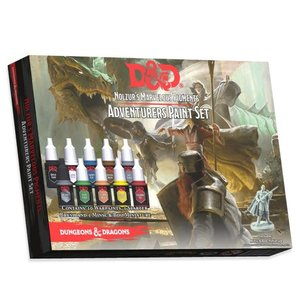 GaleForce9 Paint Set: D&D 5th Ed - The Adventurers Paint Set