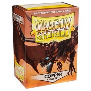 Arcane Tinman Dragon Shields: Cards Sleeves -  Copper Matte (100)