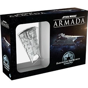 Fantasy Flight Games Star Wars Armada: Gladiator Class Star Destroyer