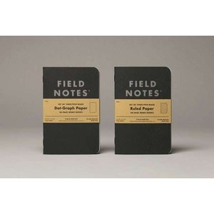 Field Notes Field Notes Pitch Black Small Ruled Memo Book