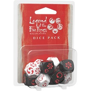 Fantasy Flight Games Legend of the Five Rings RPG:  Dice Pack