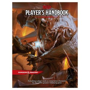 Wizards of the Coast Dungeons and Dragons 5th Edition: Player Handbook