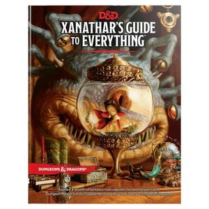 Wizards of the Coast Dungeons and Dragons Fifth Edition: Xanathar's Guide to Everything