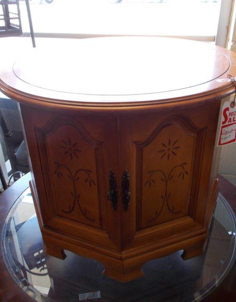End Table 1 Door Maple