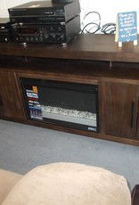 Fireplace/T.V. Stand 2 Tone