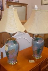 Pair lamps multi color