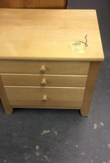 Nightstand 2dr natural