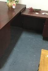 L Shaped Desk Cherry