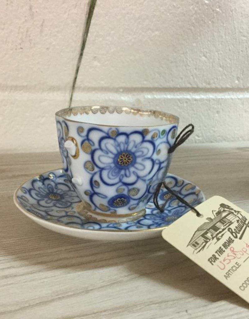 Cup and Saucer - As Is