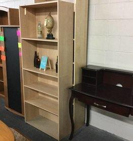 6' Bookcase Oak Wrap