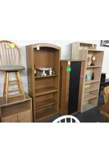 6' Bookcase Oak