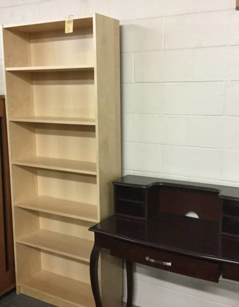 6.5' Bookcase Natural
