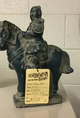 Asian Man and Horse Knick Knack