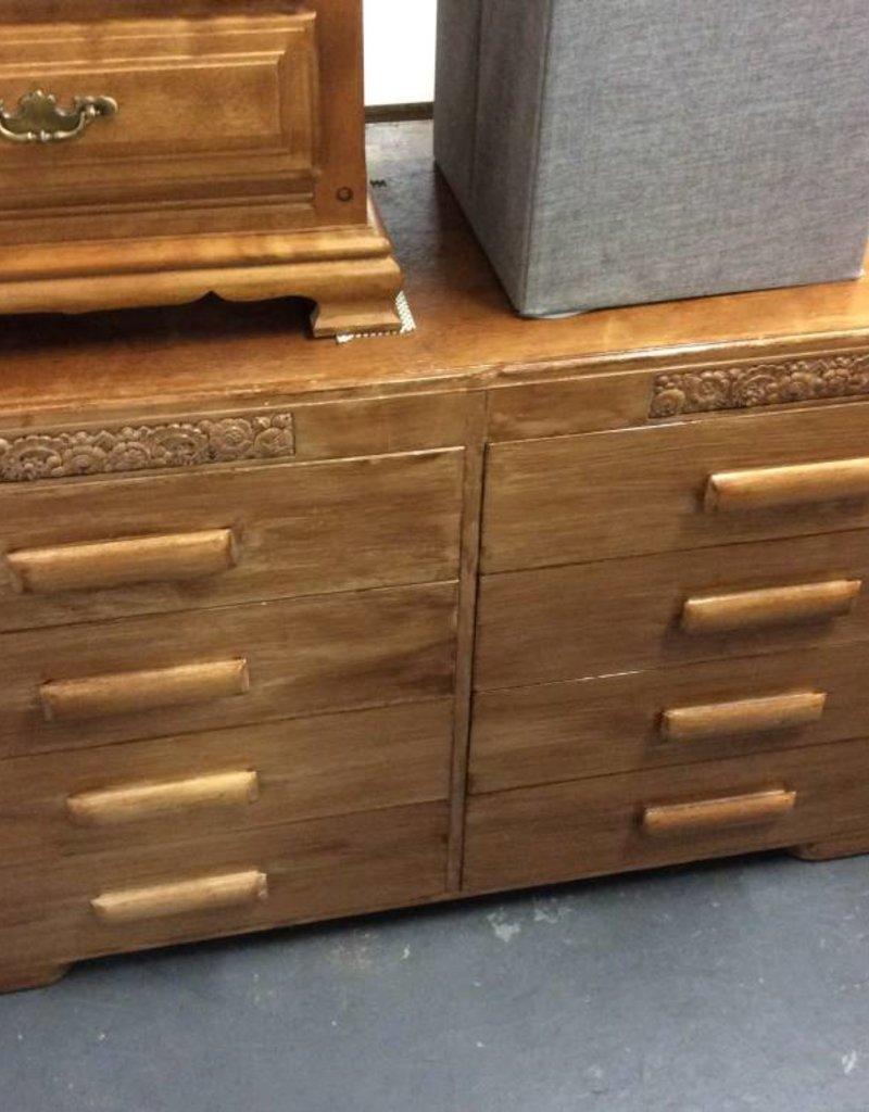 8dr dresser oak