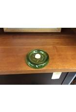 Paper weight green glass