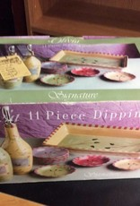 11 pc dipping set