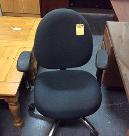 Office chair dark green