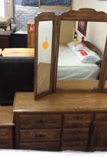 6 piece bedroom set walnut