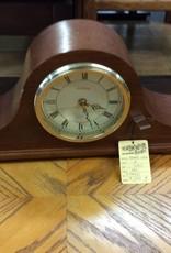 Mantle clock oak