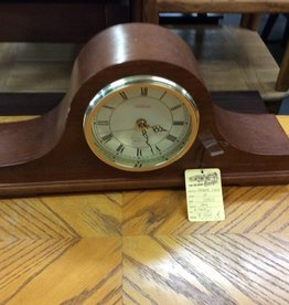 Mantle clock oak