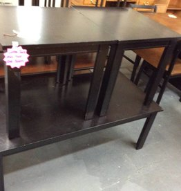 3 pc occ set coffee table and 2 end tables dark cherry