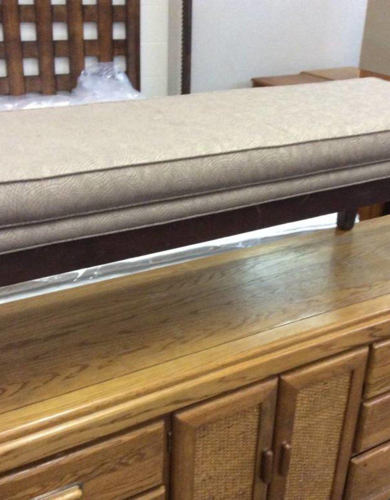 Long bench brown/pattern