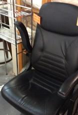 Directors chair black adjustable height