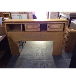Queen / full bookcase headboard