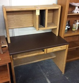 Student desk with hutch oak