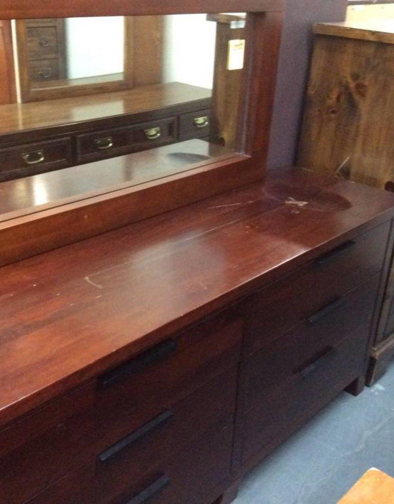 Cherry 6 drawer chest